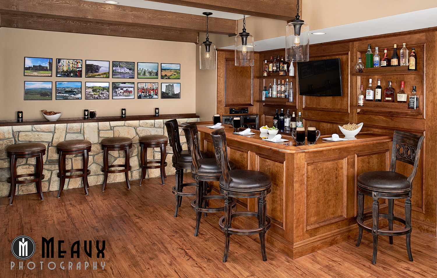 Build An Irish Pub In Your Basement Grace Thomas Design